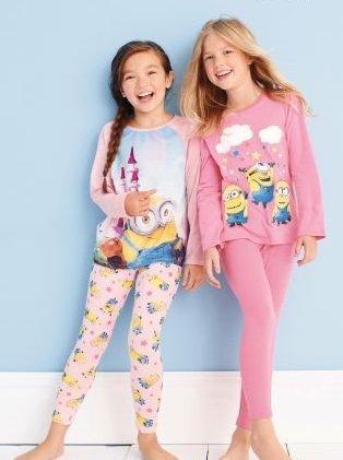 Girls in PJs