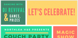 Kids Couch Party details